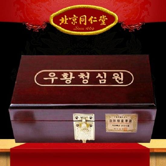 Tác dụng của kiện não hoàn Kwangdong Hàn Quốc hộp gỗ 10 viên